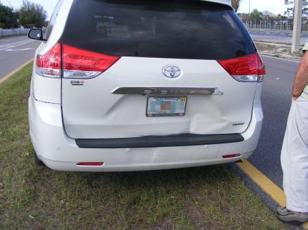 Damage to Sienna