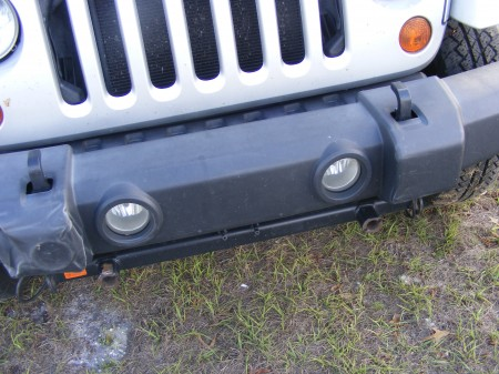 Jeep front end