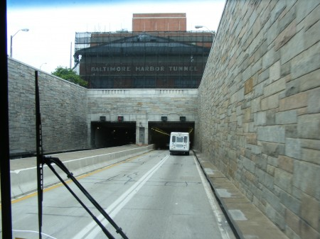 Baltimore Harbor Tunnel, Maryland