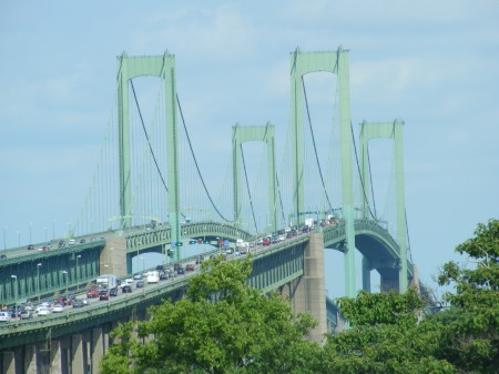 Delaware Memorial Bridge to New Jersey