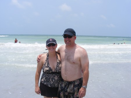 Adrianne & Greg at Honeymoon Island