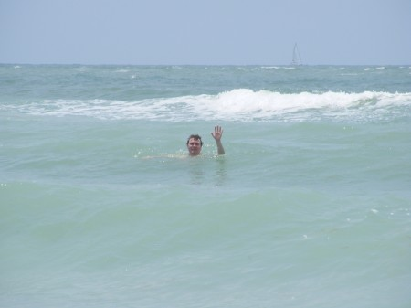 Trav at Honeymoon Island