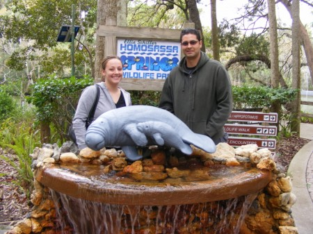 Adrianne and Phillip at Homosassa Springs