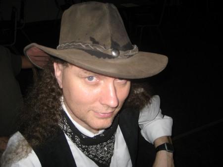 Trav as a Cowboy for Halloween, 2011