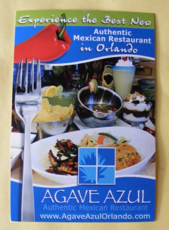 Agave Azul Authentic Mexican Restautant in Orlando, Florida