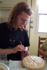 Bleys cutting pie