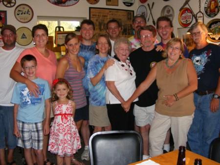 Family at The Rio