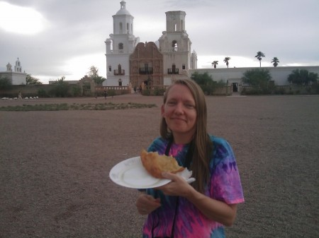 Fry Bread at San Xavier Mission