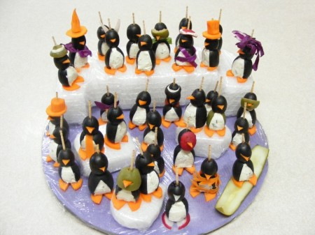 Halloween Party Penguins