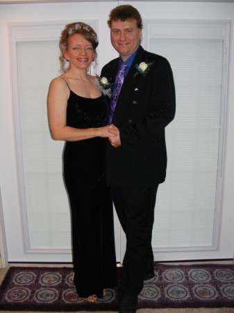 Dressed for prom