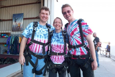 Skydiving - Ready to Go!