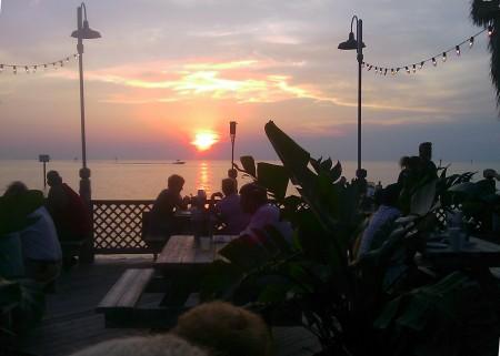 Sunset at Sam's
