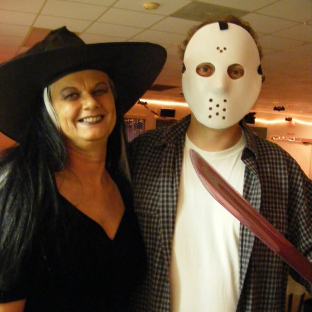 Halloween Witch and Jason (2009)